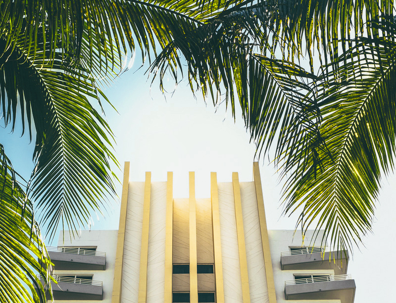 Art Deco hotel in South Beach, Miami, Florida
